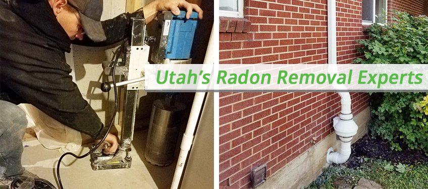 Utah radon mitigation system
