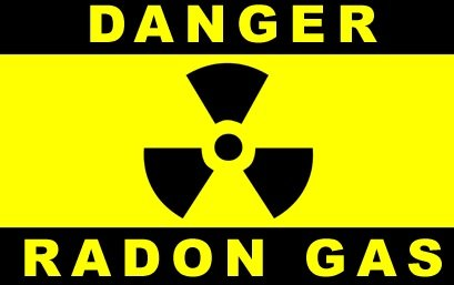 Ideal Air Cleanser for Radon Gas Mitigation caution-radon