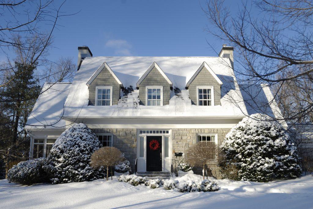 radon in winter
