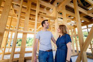 New construction radon removal