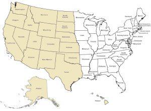 Radon Coverage Map